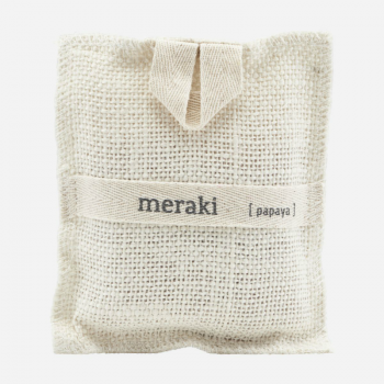 MERAKI BATH MITT PAPAYA